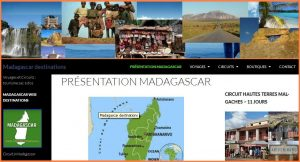 Madagascar Web Destination