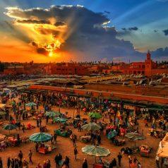 Visite à Marrakech